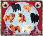 Chow Chow Kcs Tapestry
