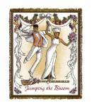 Jumping The Broom Tapestry