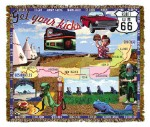 Route 66 Tapestry