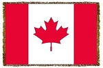 Canadian Flag Tapestry