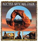 Arches In Utah National Park Tapestry