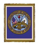 Army Emblem Tapestry
