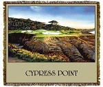 Cypress Point Golf California Tapestry