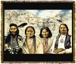 Native American Founding Fathers Ii Tapestry