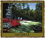 Augusta Golf Course Tapestry