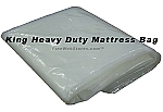 King Size Heavy Duty Plastic Mattress Bag