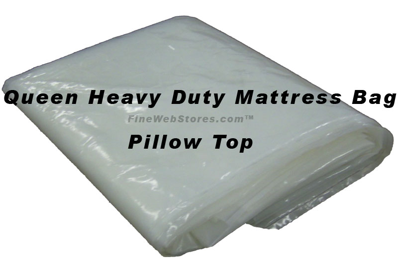 Queen Size Heavy Duty Plastic Mattress Bag