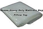 Queen Size Heavy Duty Plastic Mattress Bag