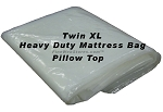 Twin XL Heavy Duty Plastic Mattress Bag