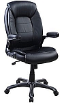 Executive Padded Black Office Chair