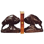 Buffalo Butting Heads Bookends