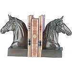 Horsey Heads Bookends