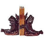 Leaping Bass Bookends