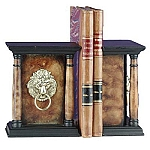 Lion Column Bookends
