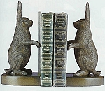 Standing Rabbit Bookends