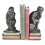 Thinking Boy Bookends