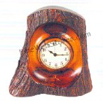 The Bark Clock Antique Style