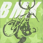 BMX Bike Vintage Tin Sign