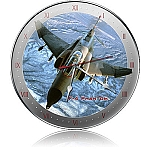 F-4 Phantom Metal Clock