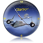 SR-71 Blackbird Metal Clock