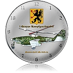 Messerschmitt 262-A Metal Clock