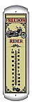 Freedom Rider Metal Thermometer