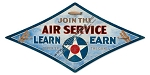 Army Air Service Vintage Metal Sign