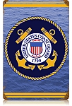 Coast Guard Vintage Metal Sign