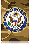 Army Vintage Metal Sign
