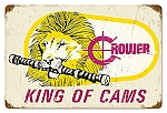 King of Cams Vintage Metal Sign