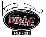 Drag Cartoons Double Sided Oval  Metal Sign