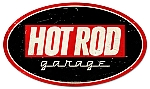 Hot Rod Garage 2 Vintage Metal Sign