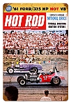 Hot Rod Magazine National Drags Vintage Metal Sign