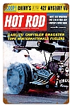 Hot Rod Magazine Garlits (May. 1963) Vintage Metal Sign