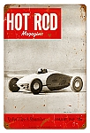 Hot Rod Magazine So. Cal Speed Shop Metal Sign