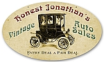Honest Jonathan's Vintage Auto Sales Metal Sign