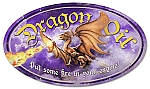 Dragon Oil Vintage Metal Sign