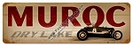Muroc Dry Lake Vintage Metal Sign