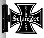 Schneider Racing Cams 2 Vintage Metal Sign