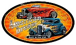 American Hot Rod Vintage Metal Sign