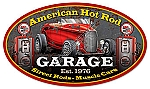 American Hot Rod Garage Vintage Metal Sign