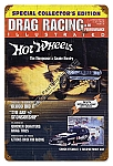 Drag Racing Illustrated Cover Metal Sign