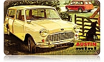 Austin Mini Countryman Vintage Metal Sign
