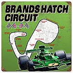 Brands Hatch Vintage Metal Sign