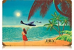 PBY Catalina Vintage Metal Sign