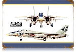 F-14A Tomcat Vintage Metal Sign