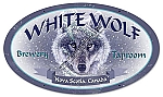 White Wolf Brewery Vintage Metal Sign