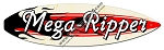 Mega Ripper Surfboard Metal Sign