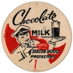 Chocolate Milk Vintage Metal Sign