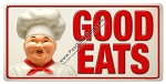 Good Eats Vintage Metal Sign